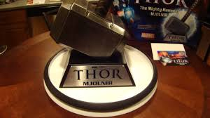 thor hammer mjolnir movie replica by museum replicas limited youtube