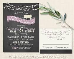 i do bbq wedding reception invitations chalkboard cookout