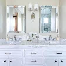 bathroom frameless mirrors beveled frameless mirror home depot curved bathroom mirrors design