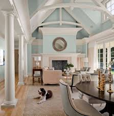 providence champagne color paint living room transitional with