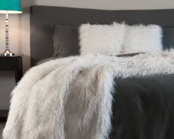 Faux Fur King Size Blanket Chanasya Mangolian Soft Shaggy Faux Fur Throw Blanket U0026 Reviews