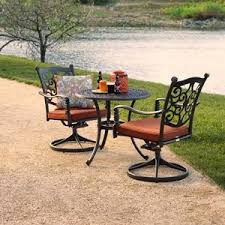 Orchard Supply Patio Furniture by Madrid Swivel Chair 2 Pack Dining Furniture Patio Furniture