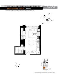 five condo floor plans