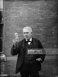What Year Did Thomas Edison Invent The Light Bulb Thomas Edison Stock Photos And Pictures Getty Images