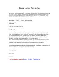 Cover Letter Templates For Nursing Resumes Resume Examples Of Marketing Cover Letters Official Resume