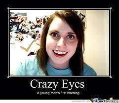 Crazy Eyes Meme - crazy eyes by johnny skidmore meme center