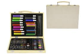 art and craft set in wooden case buy kids toys online at iharttoys