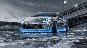 nissan tuner cars nissan 370z tuning crystal city ice snow car 2016 wallpapers 4k
