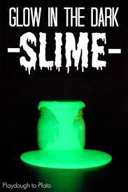 glow in the dark slime playdough to plato