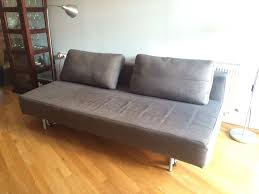 Charcoal MUJI  Seater Sofa Bed And Footstoolmattress In Old - Muji sofas