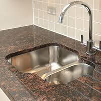 overmount sink on granite granite countertops kitchen sinks choosing the right style