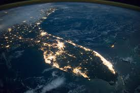 satellite map of florida florida at image of the day
