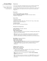 Resume For 1 Year Experienced Software Engineer Embedded Engineer Resume By Free Junior Architect Resume Example