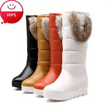 s boots with fur s knee high waterproof boots mount mercy