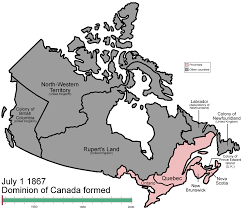 Canada Map With Provinces by File Canada Provinces Evolution Gif Wikipedia
