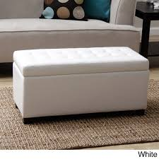amazing ottoman storage bench gdfstudio leather storage ottoman