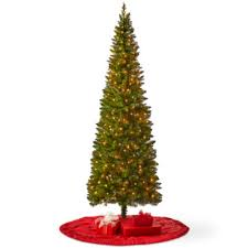 pole trading co 7 foot laramie slim pre lit tree