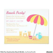 beach party birthday invitations free professional resume templates