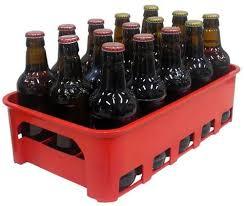 Excepcional Caixa Engradado Cerveja Vermelha Garrafas 300 Ml - R$ 14 en  &EA16