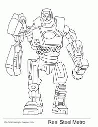 real steel noisy boy and other fantasy coloring pages