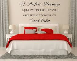 Bedroom Sayings Wall Romantic Wall Decal Etsy