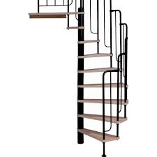 Stairs Standard Size by Spiral Staircase Kits Stair Parts The Home Depot