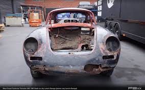 retro porsche custom west coast customs builds 356 body 987 2 likely for justin bieber