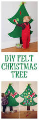 diy felt christmas tree step by step tutorial provides hours