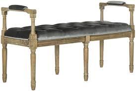 fox6263b benches furniture by safavieh