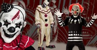 scary clown costumes candy apple costumes