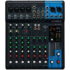 yamaha manuals yamaha mg10xu 10 channel usb stereo mixing console with spx effects