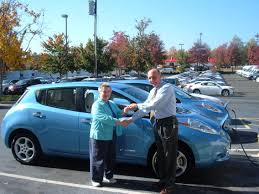 new nissan leaf the future has arrived in the triangle the 100 electric zero