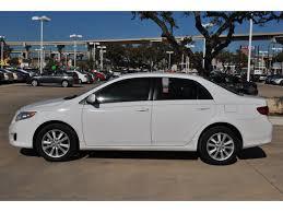 toyota corolla 09 toyota corolla 2009 white sedan xle gasoline 4 cylinders front