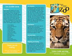 zoo brochure template zoo brochure template zoo brochure template best and professional