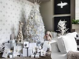 silver christmas tree decorating ideas christmas lights decoration