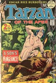 tarzan 1972 dc comic books