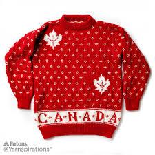 canada knit sweater knit pattern patons yarnspirations