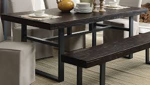 Salvaged Wood Dining Room Tables Keller Reclaimed Wood Dining Table From Coaster Coleman Furniture