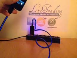 Light Up Iphone Charger Liztrading Iphone 5 Light Up Charger Youtube