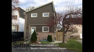 brampton detached houses for rent 50 hoskins square youtube