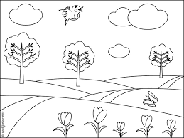 33 dessins de coloriage paysage à imprimer sur LaGuerchecom  Page 4