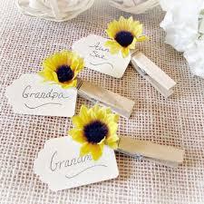 sunflower wedding favors shop sunflower wedding favors on wanelo