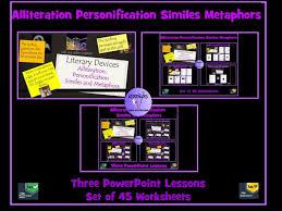 similes and metaphors set of 16 worksheets by krazikas