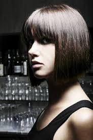 regis bob hairstyles a short brown straight bob hairstyle by paul stafford hair