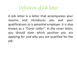 Resume Definition Job by Job Letter U0026 Resume Writing Raw File