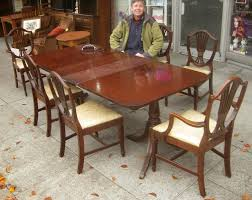 Duncan Phyfe Dining Room Table And Chairs Uhuru Furniture Collectibles Sold Duncan Phyfe Dining Set 200