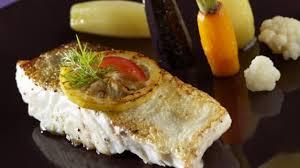 cuisiner le cabillaud recette dos de cabillaud rôti et sa jardinière de légumes