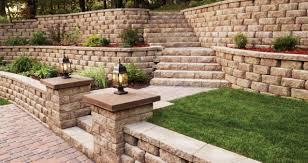 retaining wall san go tiered garden wall with stairs plans for the