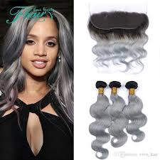 can ypu safely bodywave grey hair 2018 brazilian body wave grey hair weave 3 bundles with lace