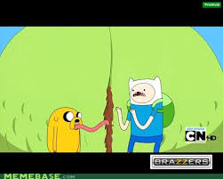 Adventure Time Meme - jake and finn behind the adventure memebase funny memes